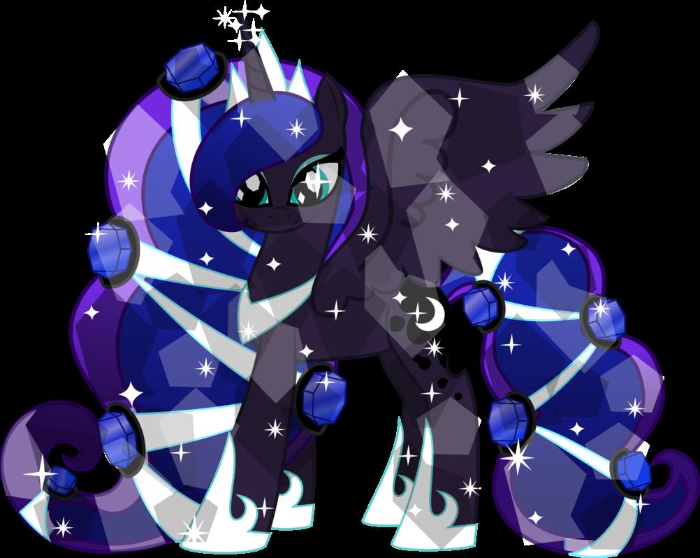 My Little Pony Friendship Is Magic Nightmare Moon Crystal