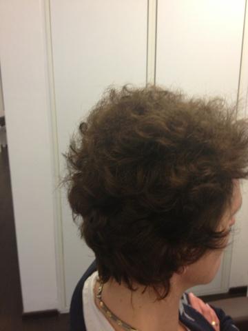 Glatte haare 3 monate