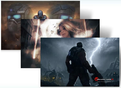 gears of war 3 tema windows 7