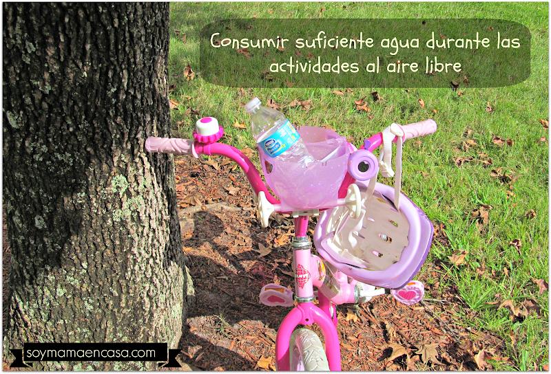 hidratacion actividades aire libre