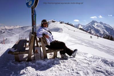 na zdjeciu rgion narciarski Großarl