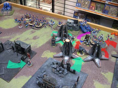 Warhammer 40k 1500 point game