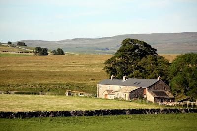 Barns in the Eden Valley in Cumbria