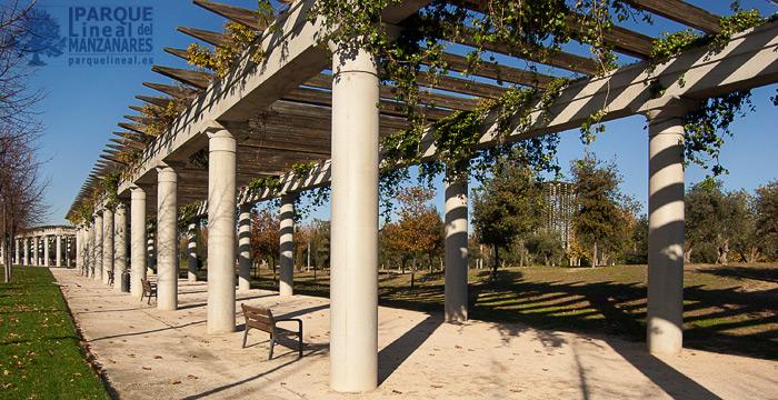 paseo de los sentidos, parque manzanares