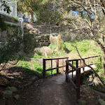 Bridge behind Little Sirius Cove (69898)