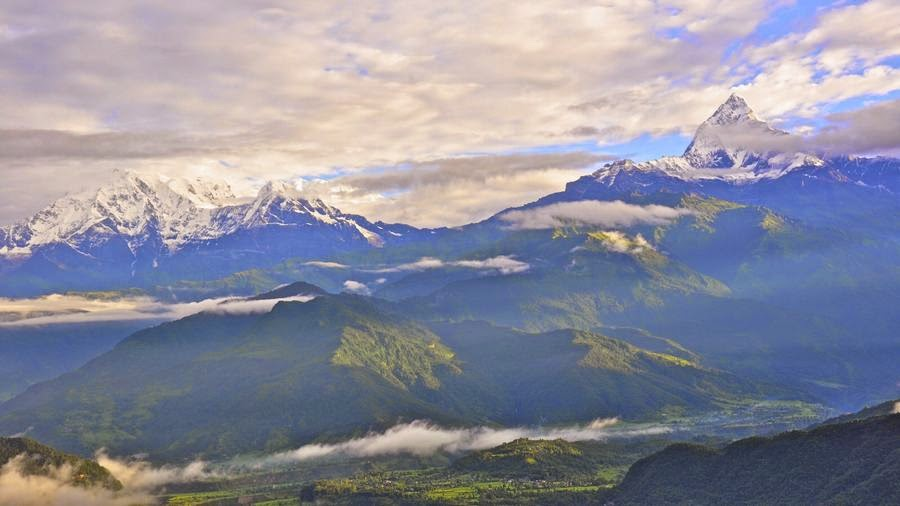 Sarangkot, Nepal, otra de las maravillas naturales del mundo