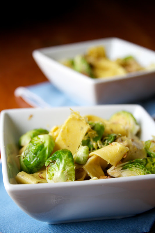 Brussel Sprouts With Lemon Pasta Recipes — Dishmaps