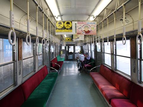 熊本電気鉄道 5000系電車 5102A形 車内