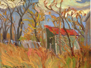 """""""SHED WITH RED ROOF - WOODROFFE RD. OTTAWA"""""""