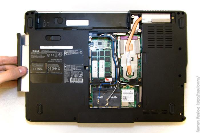 Как разобрать ноутбук Dell Inspiron 1525 6