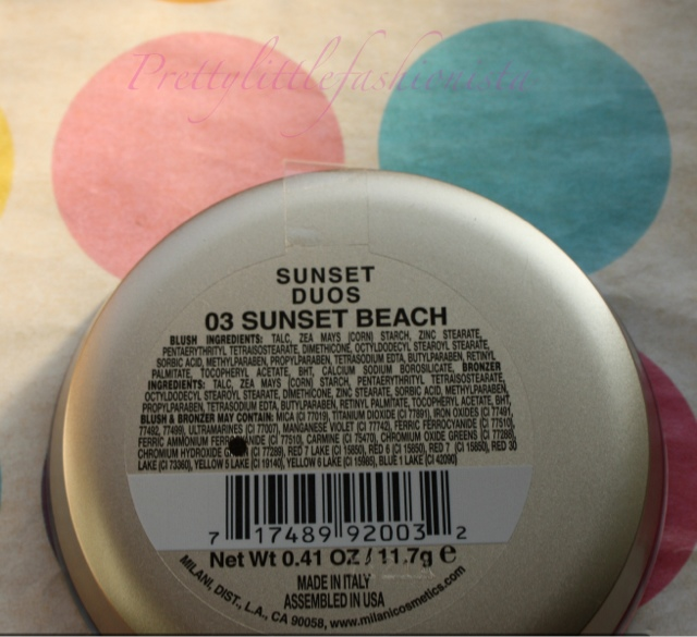 Milani Sunset Duo in Sunset Beach
