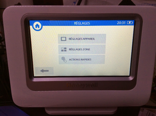 Test de la solution evohome d 39 honeywell for Configurer ecran pc