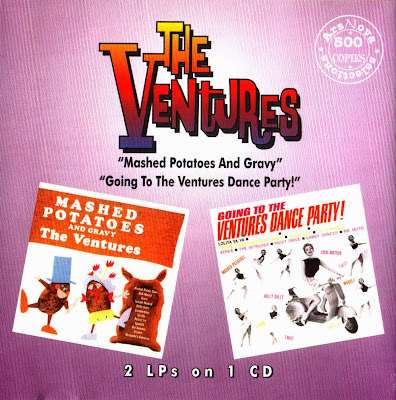 the Ventures ~ 1962c ~ Mashed Potatoes and Gravy + 1962d ~ Going to Ventures Danceparty