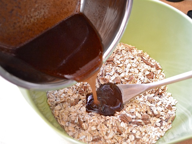 pour over oats