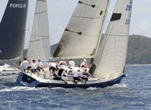 J/120 sailing Caribbean regattas BVI