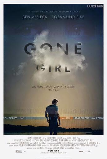 Το Κορίτσι που Εξαφανίστηκε (Gone Girl) Poster