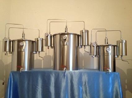 Destiladores de Plantas Medicinales,
