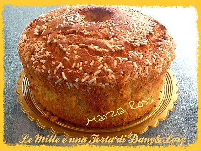chiffon cake all'anice