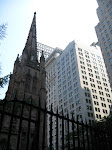 The church that heads up Wall Street