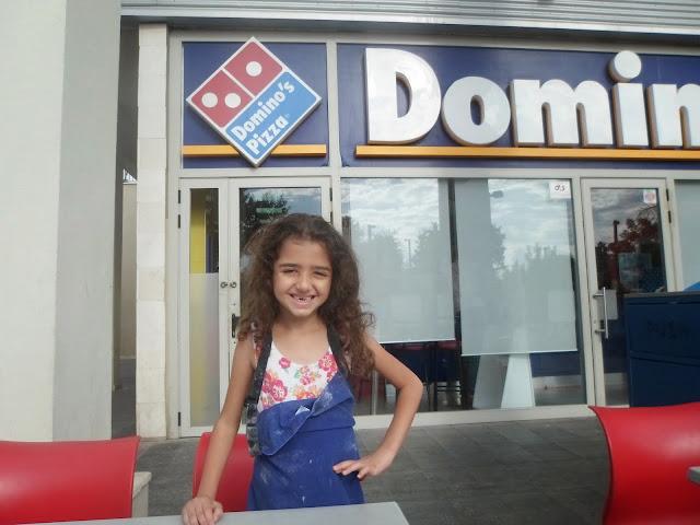 """דומינוס פיצה -סדנת  """"שף צעיר """" מותק של פעילות לילד..."""