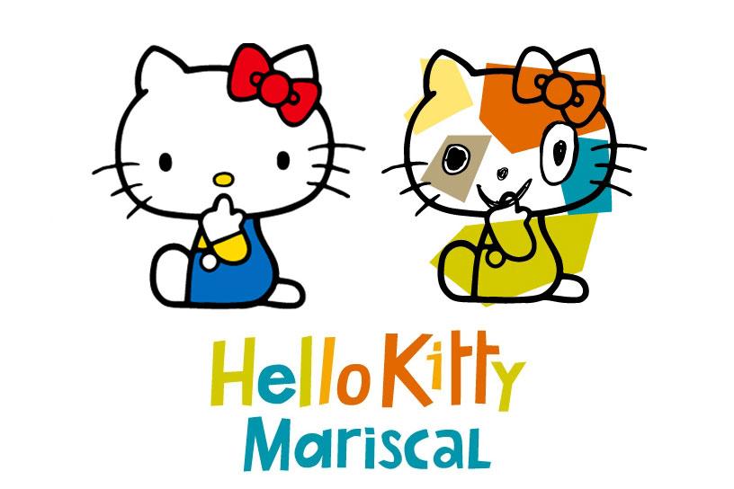 *Hello Kitty長嘴了:Javier Mariscal繪歪臉新面貌! 1