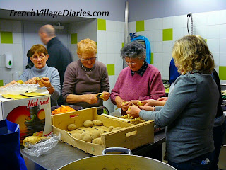 French Village diaries hibernation telethon volunteers