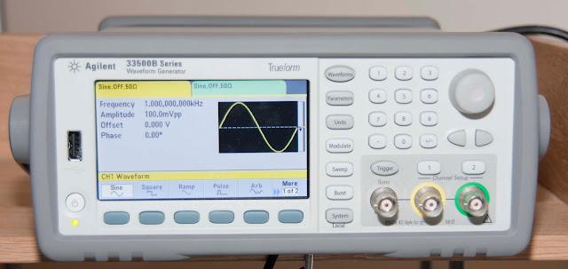 Agilent 33522B Waveform Generator Front Panel