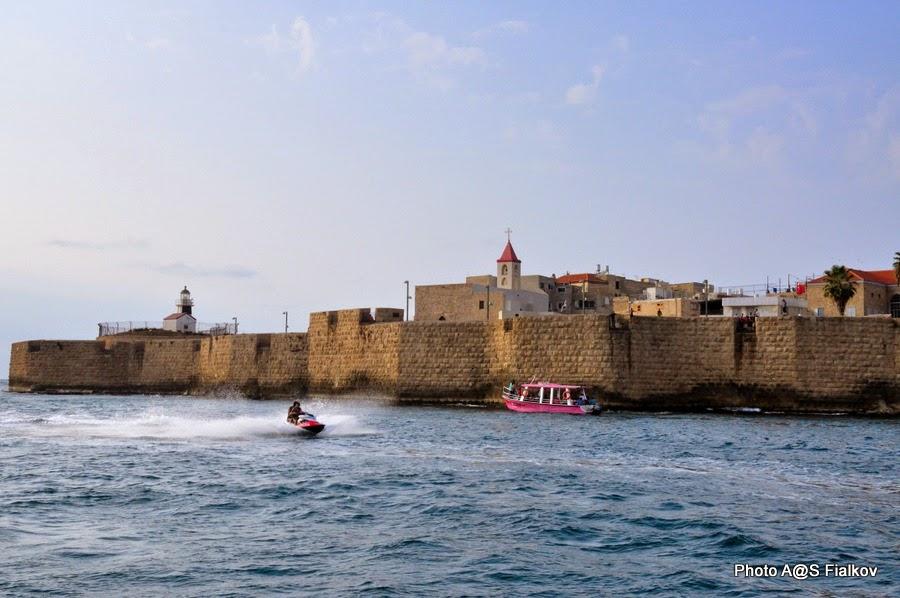 Морская крепость Акко. Экскурсия по Акко. Гид в Израиле Светлана Фиалкова.