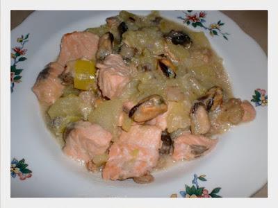 Blanquette expresse de la mer - recette indexée dans les Poissons