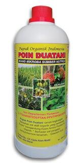 Pupuk Organik Cair Poin Duatani