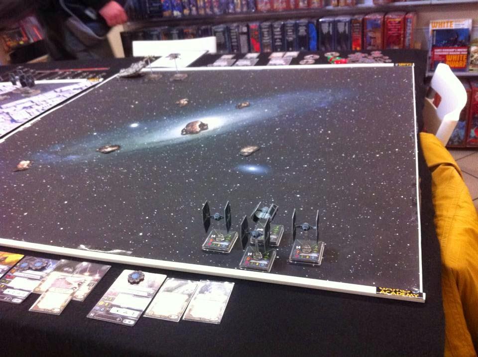 La prima partita di X-Wing sta per iniziare