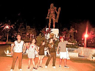 Lapu lapu statue mactan cebu historical marker fight with magellan ferdinand