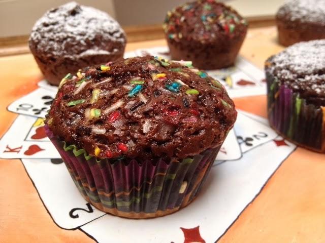 vegan cupcakes al cioccolato!