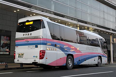 伊予鉄道「オレンジライナー」新宿線  5304 リア