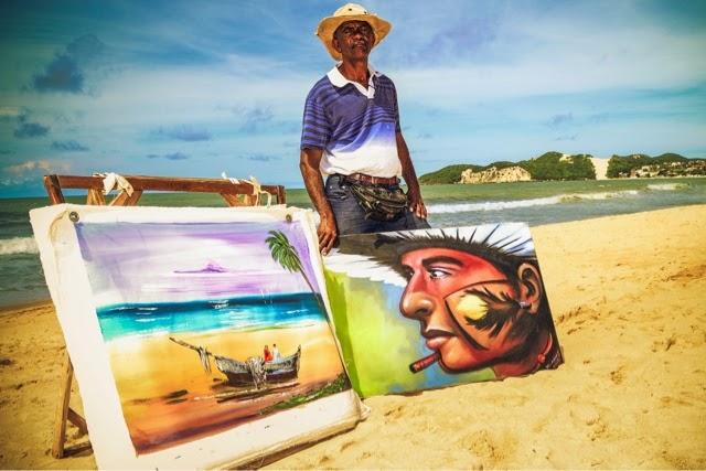Natal: Exposição Faixa de Areia está no Teatro de Cultura Popular