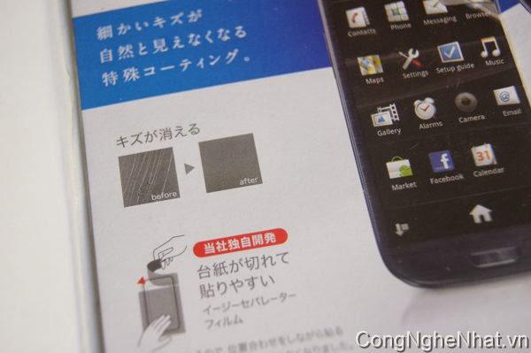 Dán màn SamSung Galaxy S 3 (SC-06D) tự lành vết thương