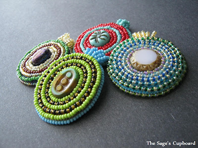 Assorted Embroidery Pendants