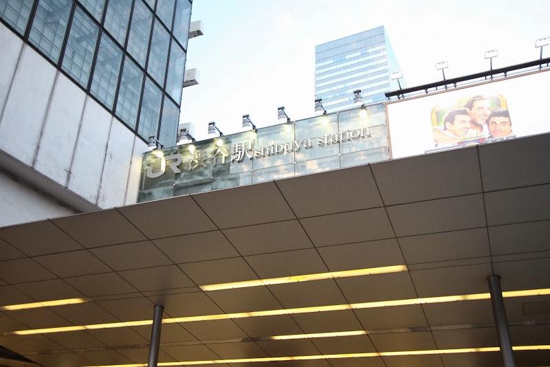 聖地巡礼記事:俺たちに翼はない(アニメ版)@渋谷(駅前・歩道橋・高架下)ゲーム版と違い渋谷のみがモデルですよ