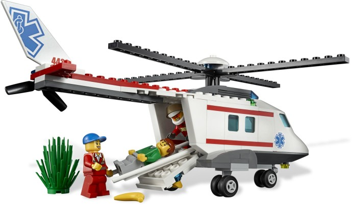 4429 LEGO City Helicopter Rescue