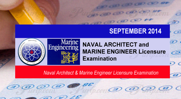 Sept 2014 NAVAL Architecture and MARINE Engineering full Results