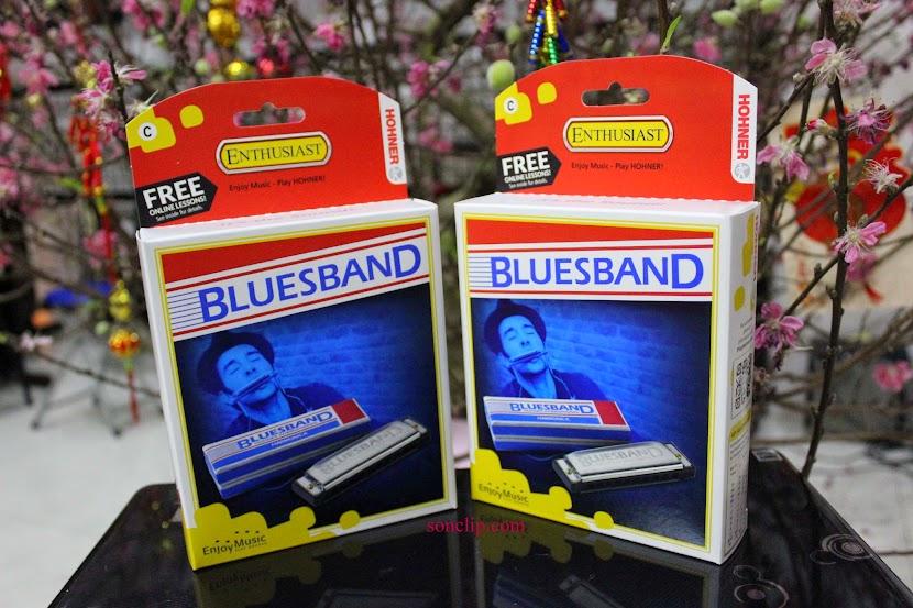 Kèn Harmonica - Hohner Blues Band (key C)