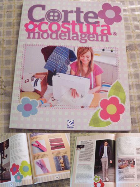 Livro Corte, Costura e Modelagem