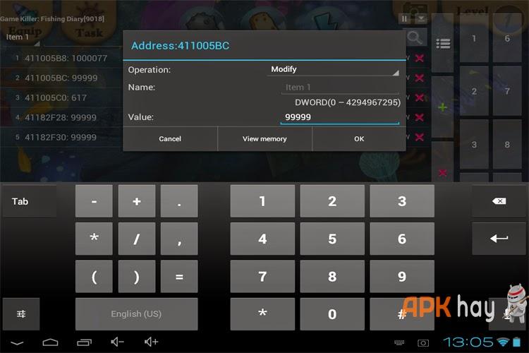 7Hướng dẫn hack tất cả game Android bằng GameKiller