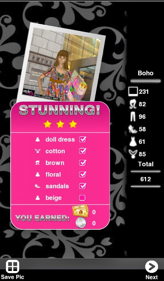 Updated! Style Me Girl Level 6 - Boho - NO CASH ITEMS! | I Style ...