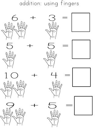 Number Names Worksheets : addition in kindergarten ~ Free ...