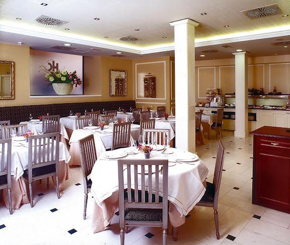 restaurante hotel catalonia las cortes calle del prado