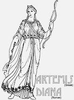Άρτεμη,θεά του κυνηγιού και της φύσης,παρθένα θεά κόρη του Δία,Artemis,goddess,mythology.