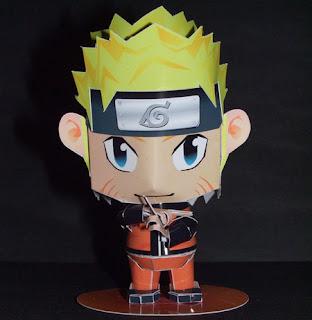 Chibi Naruto Papercraft
