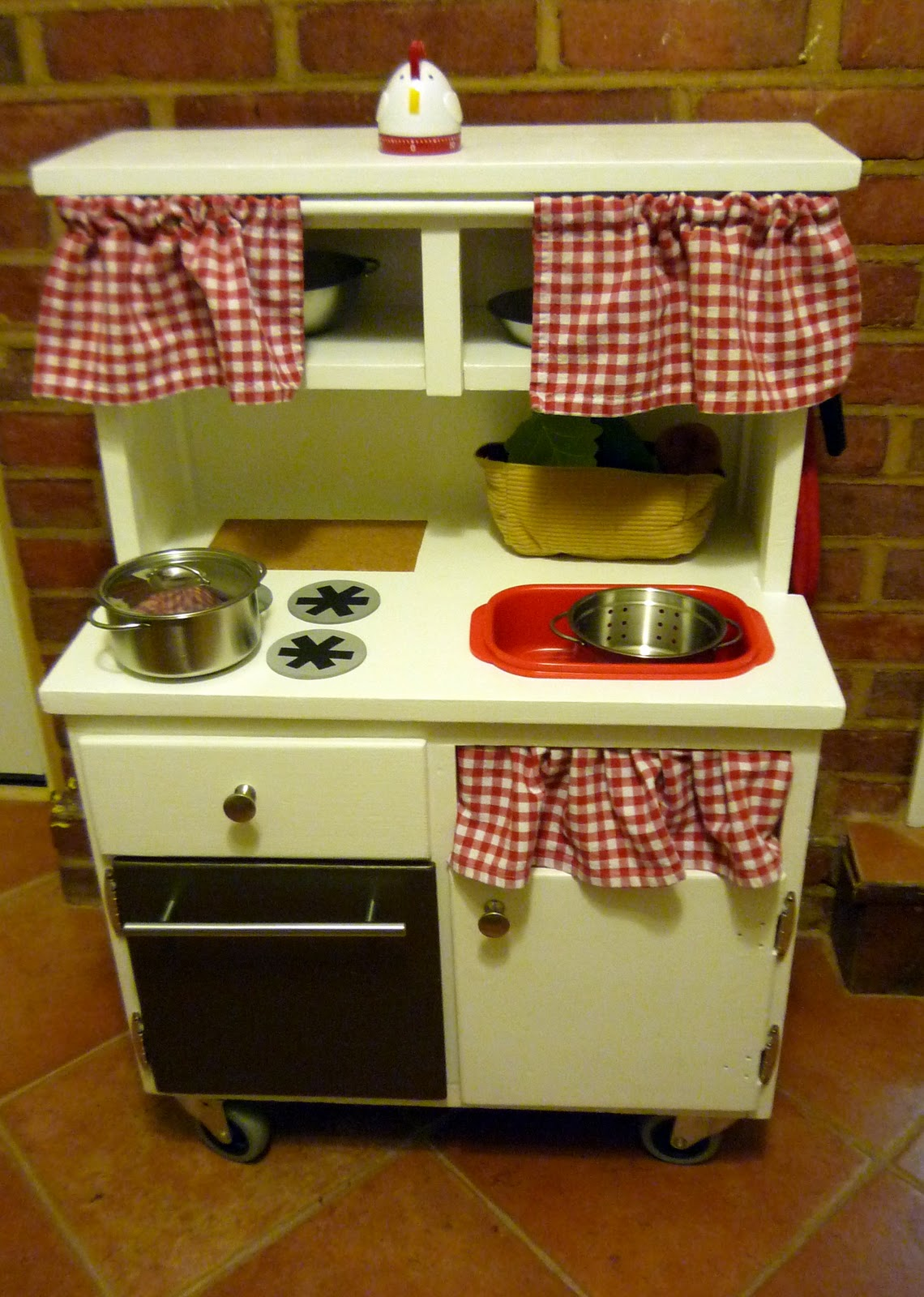 Homemade Play Kitchen Namesake Design March 2011