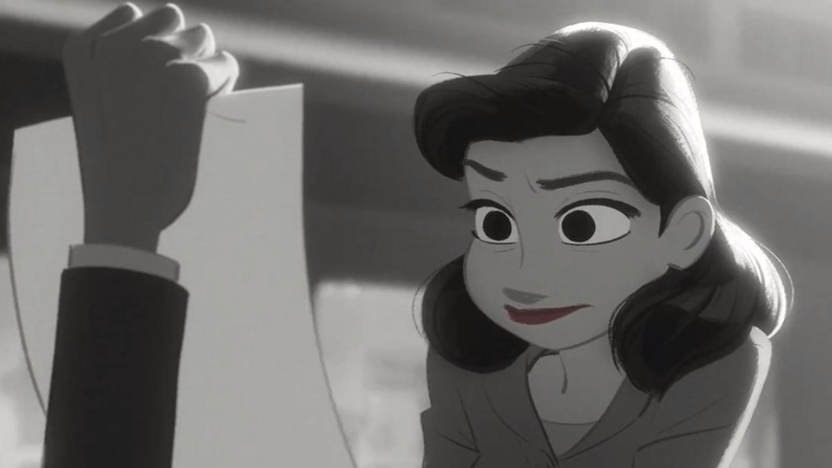 *榮獲奧斯卡提名-迪士尼動畫短片Paperman:紙飛機劃開愛情的隔界 2
